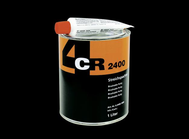 1 liter streich spachtel 2400 inkl h rter 4cr polyesterspachtel. Black Bedroom Furniture Sets. Home Design Ideas