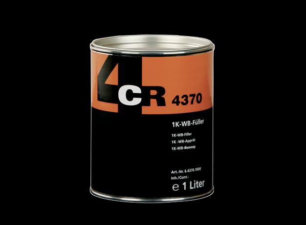 1 Liter 1K WB-Primer 4370 Haftgrund dunkelgrau 4CR Grundierung Füller