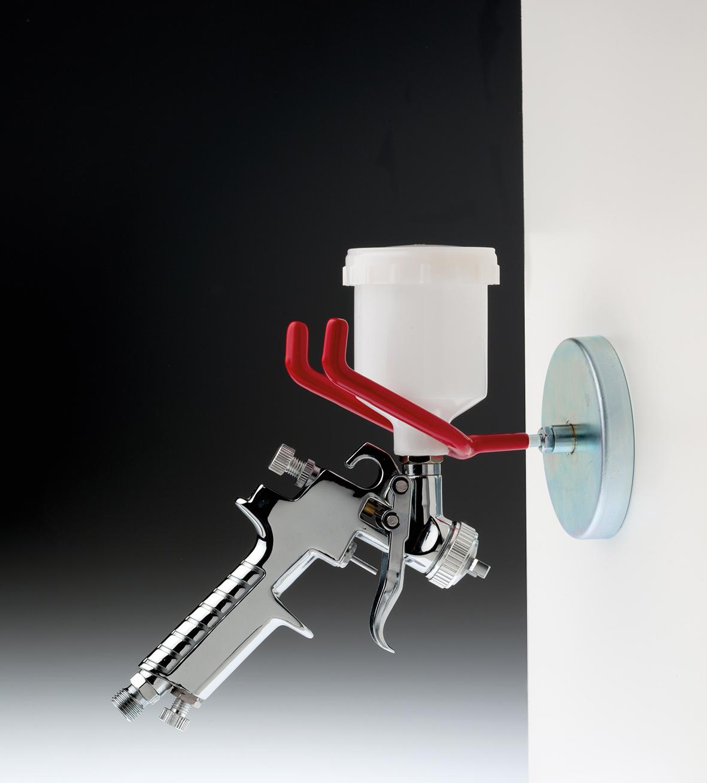 halter f r lackierpistole gunholder spritzpistole magnethalter druckluftwerkzeug. Black Bedroom Furniture Sets. Home Design Ideas
